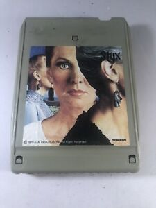 STYX Pieces Of  Eight - 8-Track Tape Cartridge-Vintage Rock