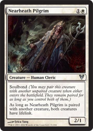 4 Nearheath Pilgrim ~ Near Mint Avacyn Restored 4x x4 Playset UltimateMTG Magic