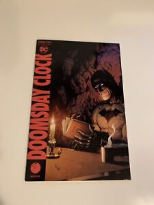 NM Doomsday Clock #12 of 12 BLANK Variant DC
