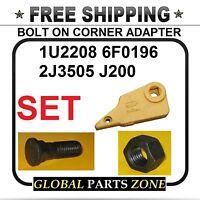 Bolt On Corner Adapter For Caterpillar Right 1u2209 Bolt& Nut J200 Ships Free