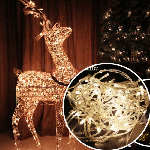 10M//20M 100//200LED Christmas Halloween Party Home Decor Fairy String Lights Lamp