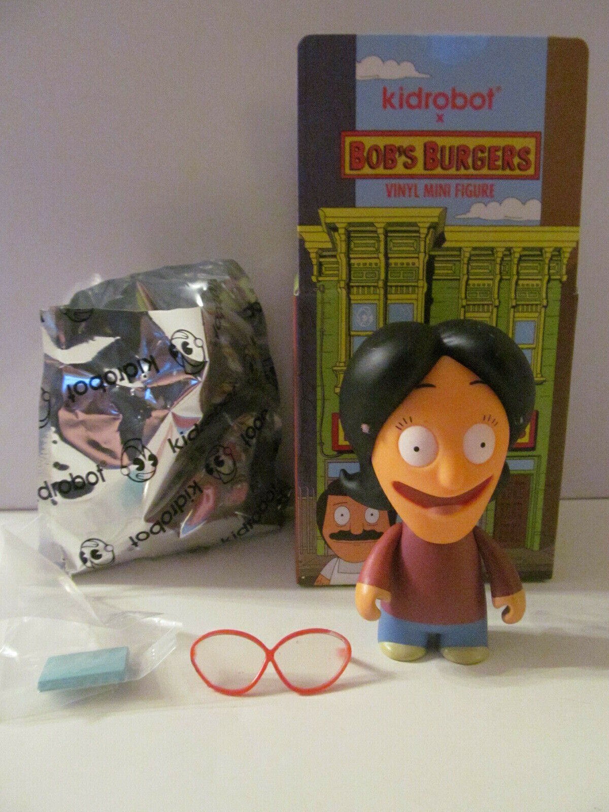 Kidrobot Bob/'s Burgers Burger Bob Belcher 3//20