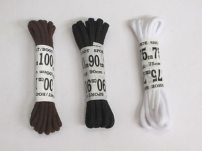 Ronda shoe/boots cordones diferentes longitudes y colores disponibles
