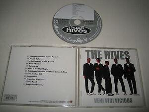 THE-HIVES-VENI-VIDI-VICIOUS-BURNING-HEARTS-BHR-107-CD-ALBUM