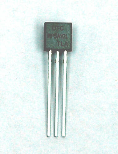 100pc PNP Transistor MPSA92L TO-92 RoHS UTC MPSA92 300V 0.5A 625mW