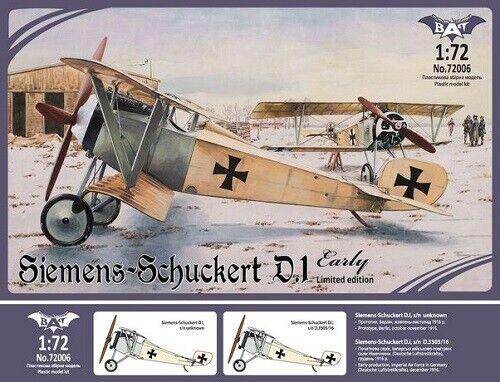 BAT Project 72006-1//72 Siemens-Schuckert D.1 early Neu