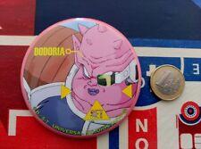 DRAGON BALL Z  VINTAGE CHAPA CAN BADGE PIN 100% original de Japón! EARLY 90S