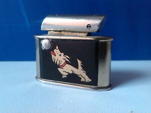 Lighter-Garantie-Zunder-Petrol-Lighter-No-20-Silver-RARE-1930-1940-039-s