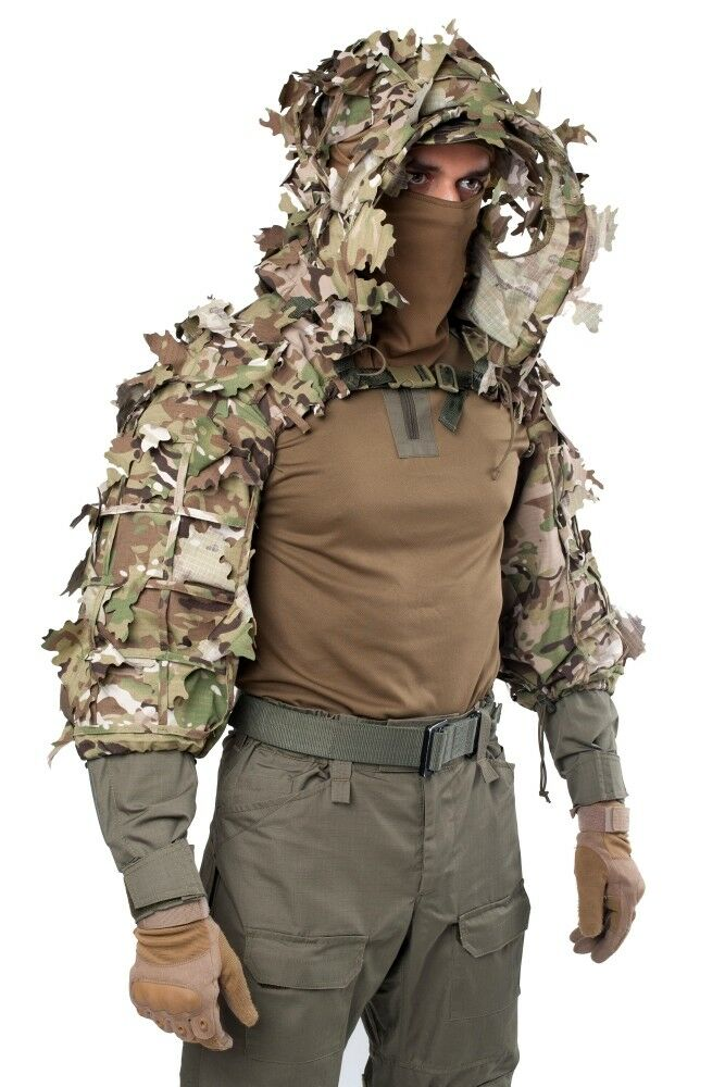 Disguise Sniper Coat  Scorpion    Viper Hood Multicam by Giena Tactics