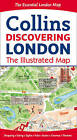 Discovering London Illustrated Map by Collins Maps, Dominic Beddow (Sheet map, folded, 2015)