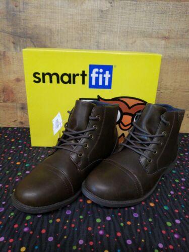 Smartfit 177783 Lincoln Brown Boots Junior Boy/'s Shoes Size 5 NWB