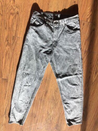 Wassen 505 Acid Levis Tab Denim 32 Made Black X Jeans In Usa Vintage Heren 31 XZ80wnOPNk