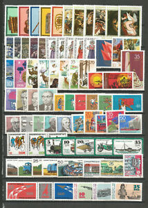 DDR-1977-postfrisch-komplett-mit-allen-Einzelmarken-Schwarzdr
