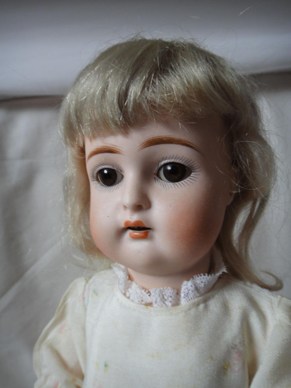 Antigua muñeca Kestner 192 14 1 2 Pulgadas alrojoedor de 1900.