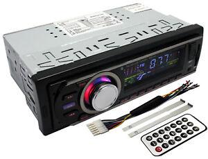 Car-Radio-Stereo-Head-Unit-Player-In-dash-MP3-USB-FM-AUX-SD-Card-Slot-Non-CD