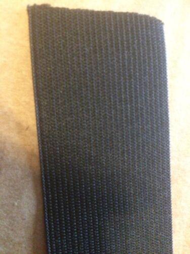 Elastico Nero 1 1//2 pollici 28mm Spessore Cucito elastico piatto