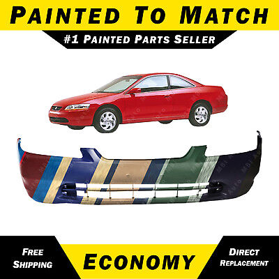 New HO1000179 Front Bumper Cover for Honda Accord 1998-2000