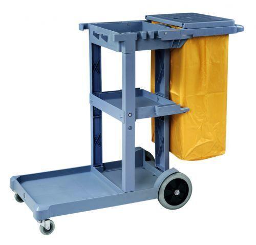 pour nettoyage avec 2 pivotant Stores et 2 roues de chariot ABM 114 x 51 X 98