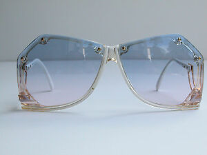 c3cd560ff742 Cazal Vintage Sunglasses - NOS - Model 860 - Col.192- Gold   White ...