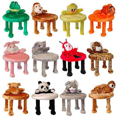 Tiermotive Kinderhocker Kinderstuhl Hocker Kinder Tiere Sitz Kindersitz PLÜSCH | eBay