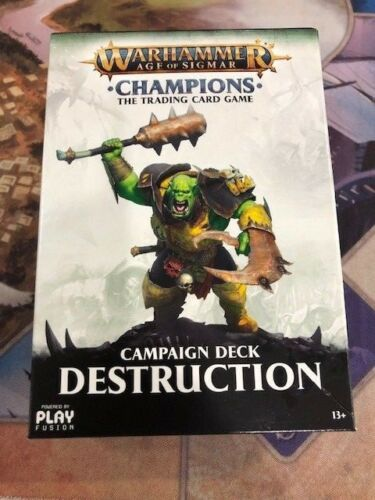 Warhammer TCG Age of Sigmar Champions Campaign Deck Destruction