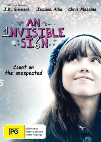 1 of 1 - A  An Invisible Sign (DVD, 2015) COMEDY Jessica Alba [Region 4] NEW/SEALED