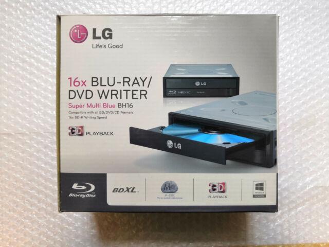 LG BU40N.ARAA10B Ultra-Slim 9.5 mm Internal 6x Blu-Ray BD-RW Drive