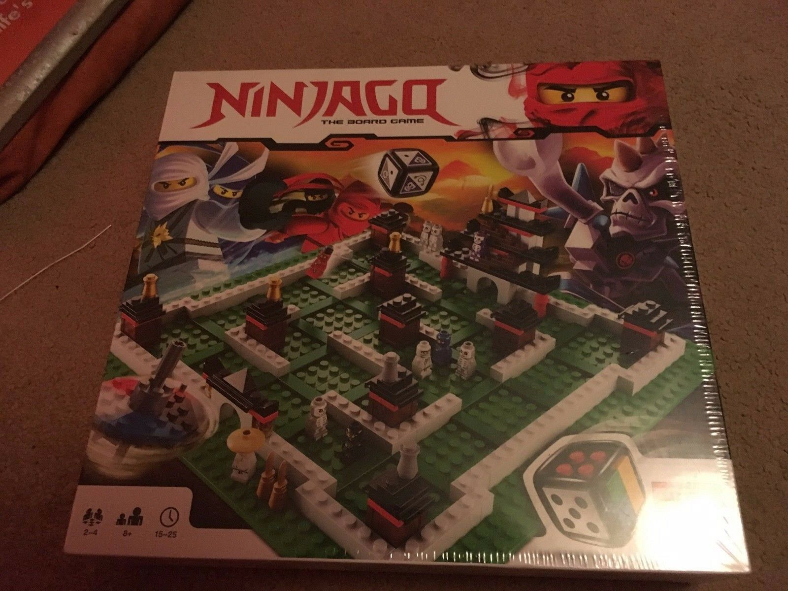 LEGO Games NinjaGo board game (retired) 3856 PRISTINE BRAND NEW FACTORY SEALED