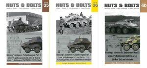 Nuts-amp-Bolts-35-36-40-Bussing-039-s-8-Rad-Panzerspahwagen-Modellbau-Buch-Fotos-Bilder