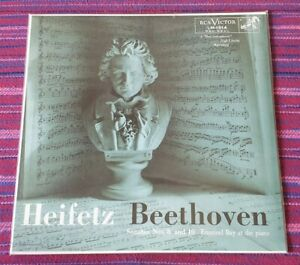 Heifetz-Beethoven-Sonatas-Nos-8-amp-10-IMPEX-Records-2012-Made-in-USA-Lp