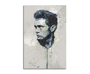 90x60cm-PAUL-SINUS-Splash-Art-Gemaelde-James-Dean-Geschenkartikel
