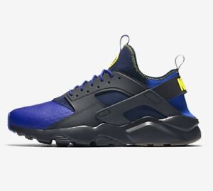NIKE-AIR-HUARACHE-RUN-ULTRA-SE-BLUE-ANTHRACITE-875841-001-UK-7-8-9-10-11