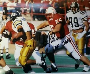 NEBRASKA-FOOTBALL-CHRISTIAN-PETER-55-SIGNED-AUTOGRAPHED-PHOTO-HUSKER-HOF-2006