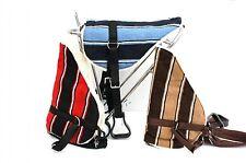 Bareback Pad Navajo rot/schwarz Reitkissen Reitpad mit Steigbügel und Gurt