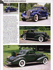 1934 Cadillac LaSalle Article - Must See !!