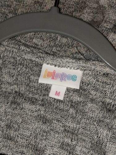 Brand Shirley Medium Lularoe Kimono tag New Gris W qwSRBpqA