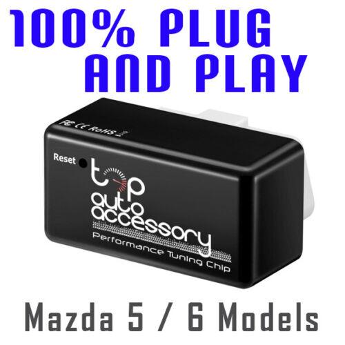 Performance Tuning Tuner Speed OBDII OBD2 OBD II 2 Chip Module ECU for Mazda 5 6