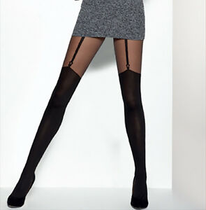 MOCK-SUSPENDER-STOCKINGS-TIGHTS-034-JESSICA-034-40-20-DENIER