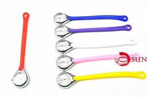Silicone-Nurse-Brooch-Tunic-Fob-Watch-Nursing-Nurses-Pocket-Watch-Long-Fastener