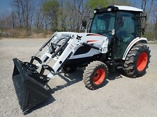 New Bobcat Ct5550 Compact Tractor With Loader Cab Heatac 4x4 Hydro 50hp