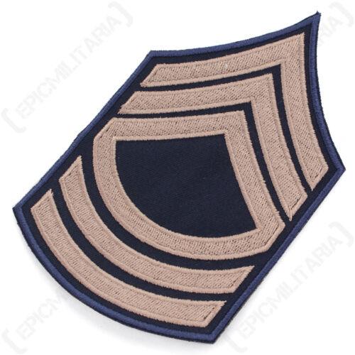 WW2 Repro American Stripes Patch Badge Army Master Sergeant Rank Badge Khaki