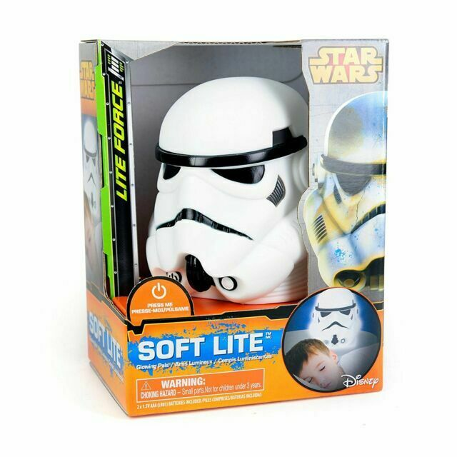GoGlow Disney Star Wars Stormtrooper Soft 3d Night Light Official Table Lamp