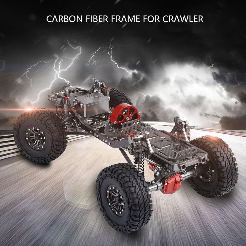 CNC tuttiuminio autobonio  RC AUTO QUADRO + antiscivolo 313mm pneumatici per interasse scx10 assiale  sconto online