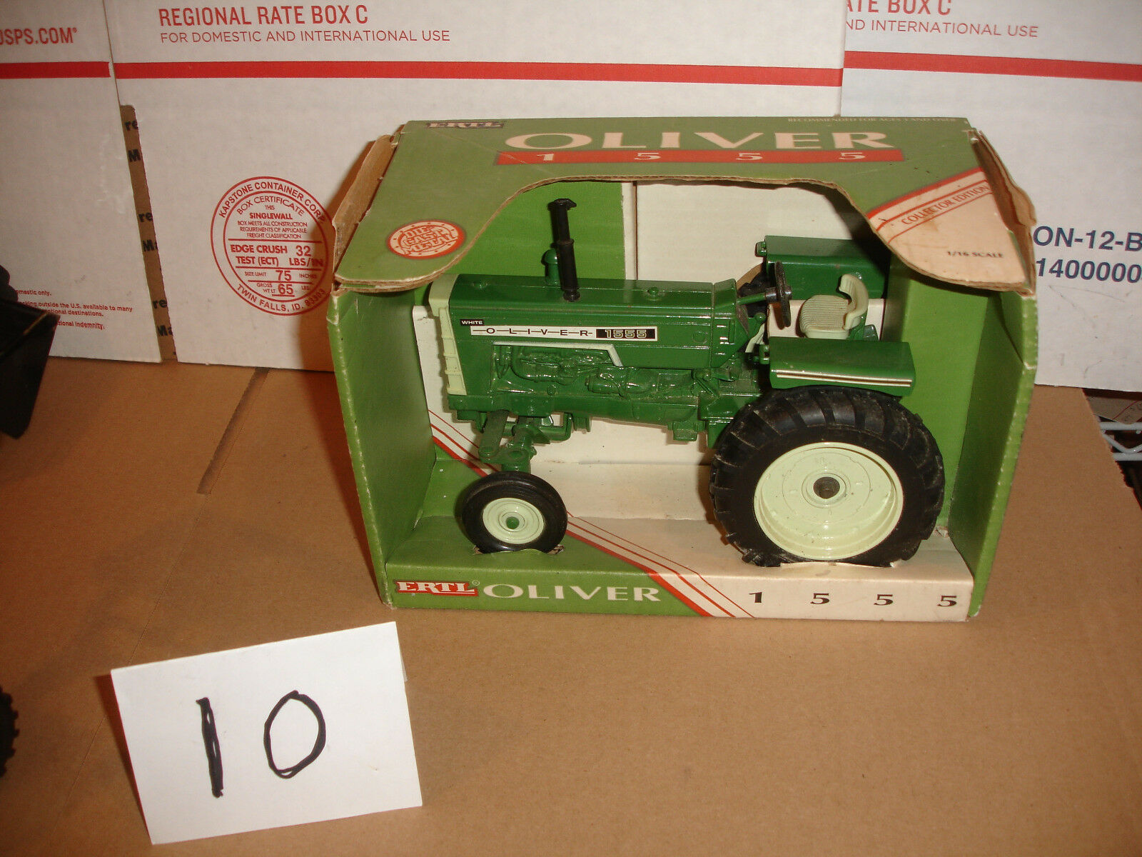 1/16 Tractor De Juguete delantero Oliver 1555 de ancho