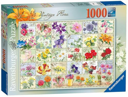 Ravensburger Vintage Flora 1000pc Jigsaw Puzzle