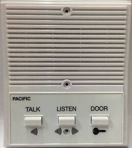 pacific apartment intercom station 3404 universal replacement 4 wire system ebay