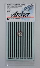 Archer Fine Transfers N-Scale (1/160) 14 inch wide Louvers AR88040