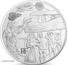 FRANCE COFFRET 10 € euros ARGENT EPREUVE LA GRANDE GUERRE 1917 2017 PACK COMPLET