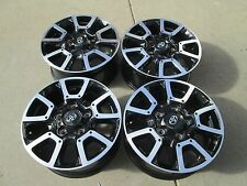 "18"" TOYOTA TUNDRA SEQUOIA OEM FACTORY STOCK BLACK WHEELS RIMS 5X150 TRD"