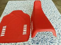 Yamaha Tt250s Tt250t Tt350s Tt350t 1986 To 1987 Seat Cover Red (y7)